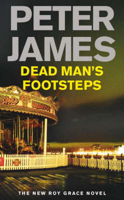 Cover of the book, Dead Man's Footsteps (Roy Grace, #4).