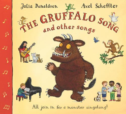 The Gruffalo Song and Other Songs Book and CD Pack (Paperback)