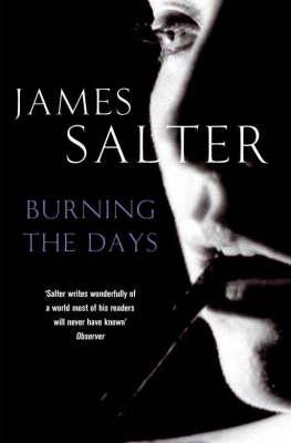 Burning the Days (Paperback)