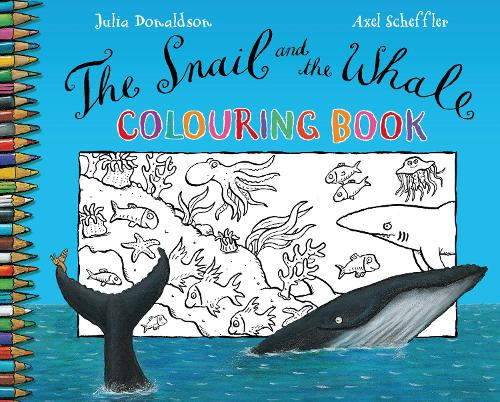 The Snail and the Whale Colouring Book (Paperback)