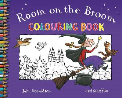 Room On The Broom Colouring Book Paperback