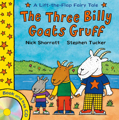 Lift-the-flap Fairy Tales: The Three Billy Goats Gruff (Paperback)