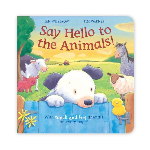 Say Hello to the Animals - Say Hello (Board book)