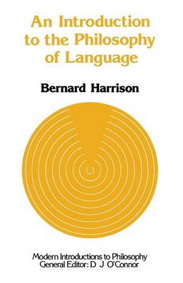An Introduction to the Philosophy of Language (Paperback)