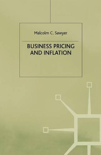 Business Pricing and Inflation (Paperback)