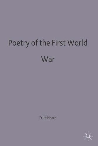 Poetry of the First World War - Casebooks Series (Paperback)