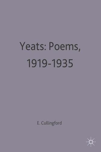 Yeats: Poems, 1919-1935 - Casebooks Series (Paperback)