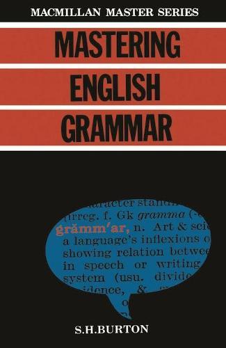 Mastering English Grammar - Palgrave Master Series (Paperback)