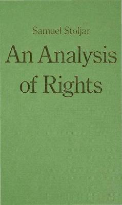 An Analysis of Rights (Hardback)