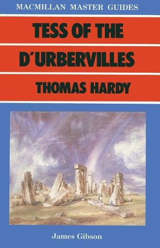 Tess of the D'Urbervilles by Thomas Hardy - Palgrave Master Guides (Paperback)