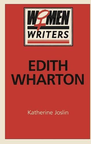 Edith Wharton - Women Writers (Paperback)