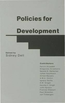 Policies for Development: Essays in Honour of Gamani Corea (Hardback)