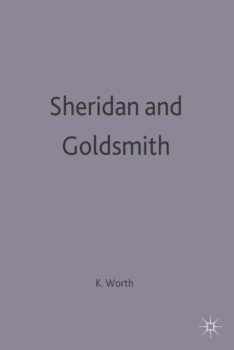 Sheridan and Goldsmith - English Dramatists (Paperback)