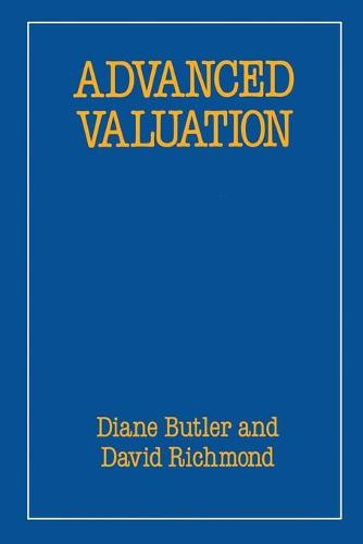 Advanced Valuation - Building and Surveying Series (Paperback)