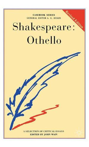 Shakespeare: Othello - Casebooks Series (Paperback)