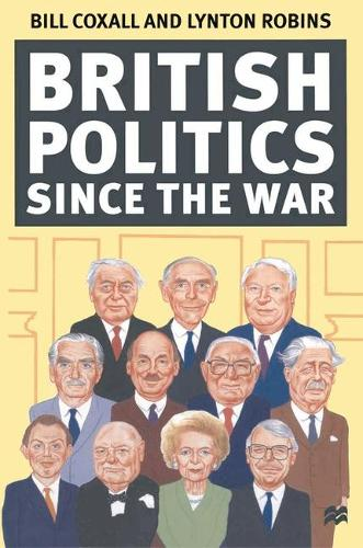 British Politics since the War (Paperback)