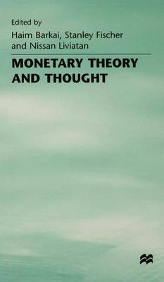 Monetary Theory and Thought: Essays in Honour of Don Patinkin (Hardback)