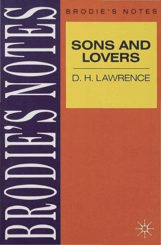 Lawrence: Sons and Lovers - Brodie's Notes (Paperback)