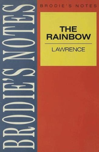 Lawrence: The Rainbow - Brodie's Notes (Paperback)