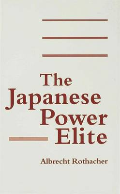 The Japanese Power Elite (Hardback)