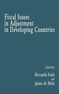 Fiscal Issues in Adjustment in Developing Countries (Hardback)