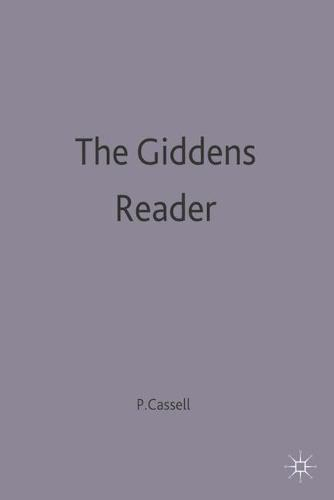 The Giddens Reader (Paperback)