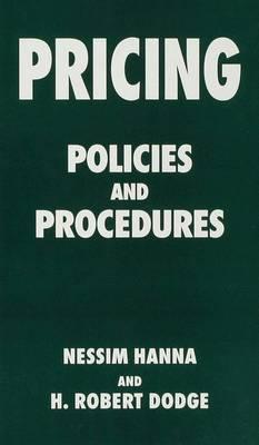 Pricing: Policies and Procedures (Hardback)