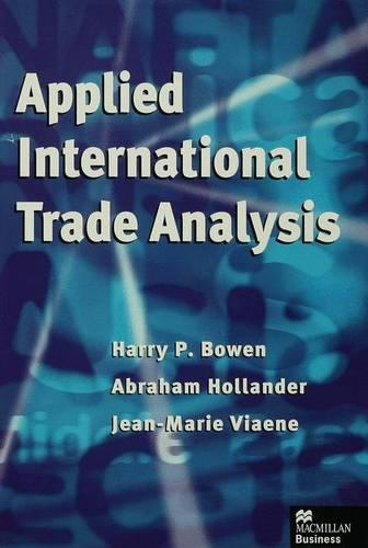 Applied International Trade Analysis (Hardback)