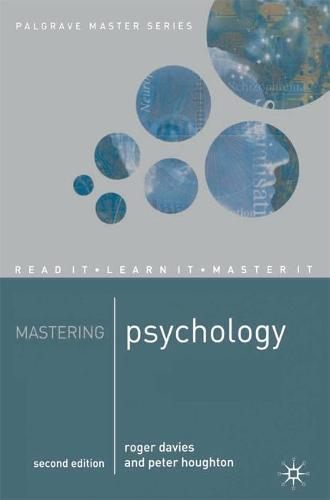 Mastering Psychology - Macmillan Master Series (Paperback)