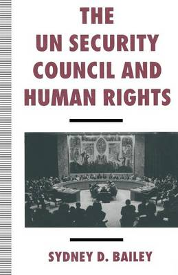 The UN Security Council and Human Rights (Paperback)