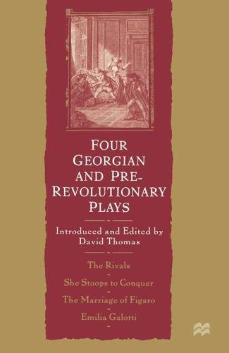 Four Georgian and Pre-Revolutionary Plays (Paperback)