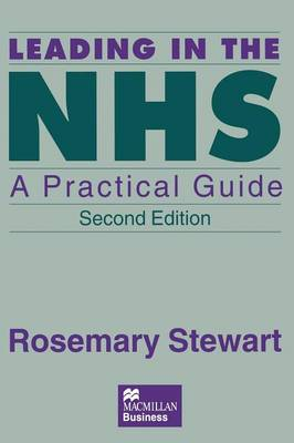 Leading in the NHS: A Practical Guide (Paperback)