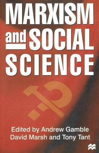 Marxism and Social Science (Paperback)