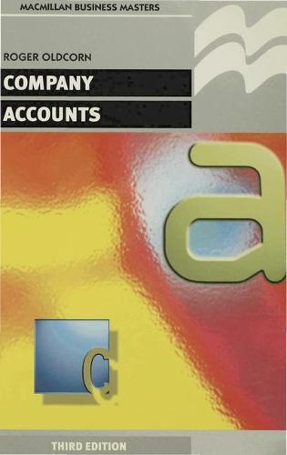 Company Accounts - Palgrave Professional Masters (Business) (Paperback)