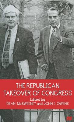 The Republican Takeover of Congress (Hardback)