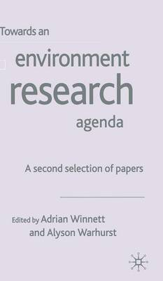 Towards an Environment Research Agenda: A Second Selection of Papers (Hardback)