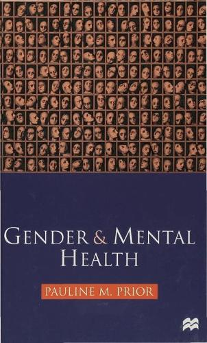 Gender and Mental Health (Hardback)