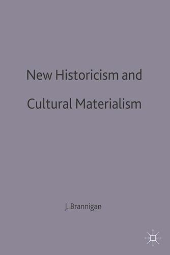 New Historicism and Cultural Materialism - Transitions (Hardback)