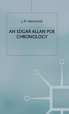 An Edgar Allan Poe Chronology - Author Chronologies Series (Hardback)