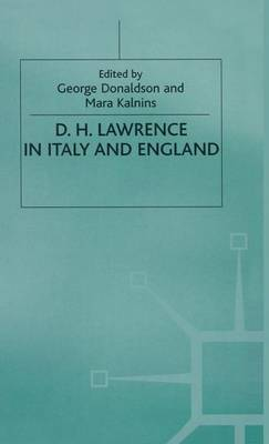 D. H. Lawrence in Italy and England (Hardback)