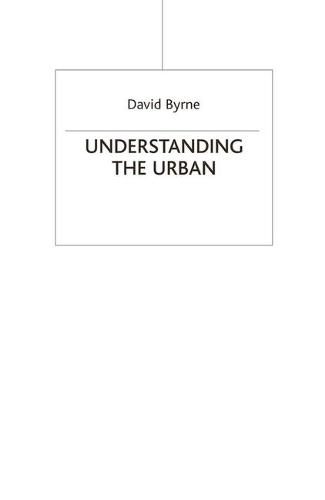 Understanding the Urban (Hardback)