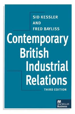 Contemporary British Industrial Relations (Paperback)