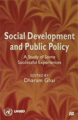 Social Development and Public Policy (Hardback)