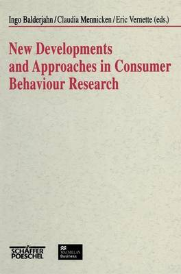 New Developments and Approaches in Consumer Behaviour Research (Hardback)