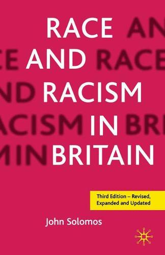 Race and Racism in Britain, Third Edition (Paperback)