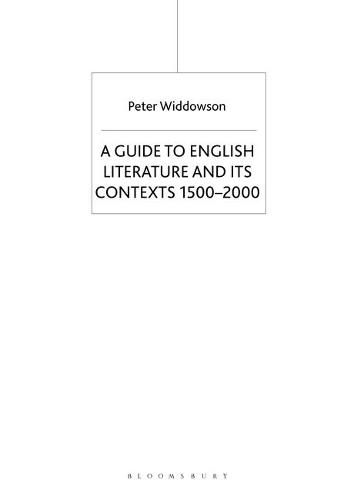 The Palgrave Guide to English Literature and Its Contexts: 1500-2000 (Hardback)