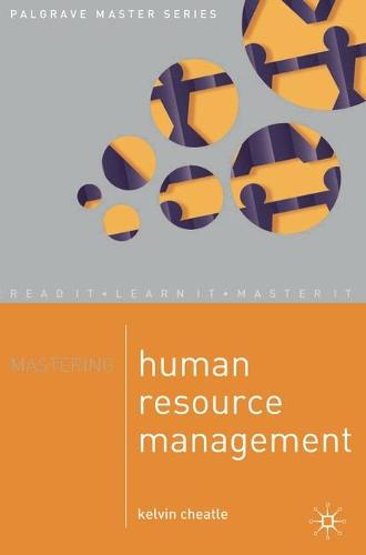 Mastering Human Resource Management - Master Series (Business) (Paperback)