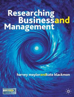 Researching Business and Management: A Roadmap for Success (Paperback)