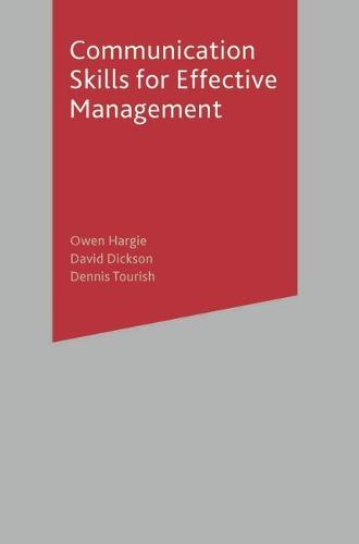 Communication Skills for Effective Management (Paperback)