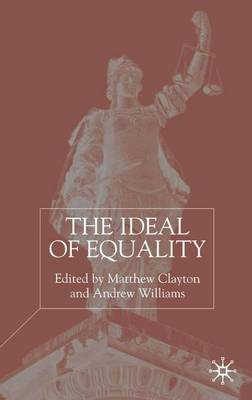 The Ideal of Equality (Paperback)